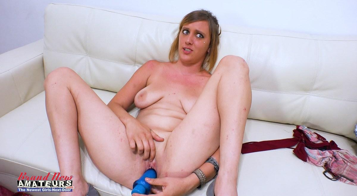 redhead hippie chick is more then happy to get her ugly twat used in an amateur video