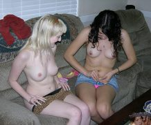 two unemplyoed ugly white trash chicks i discovered at the shopping mall and took em home to see them nude
