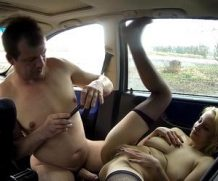 chap has good times with a ugly and cheap trucker whore